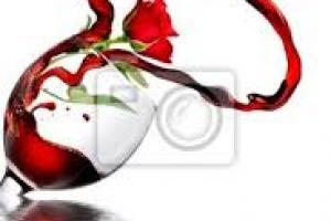 Romantyczna kolacja  degustacją wina