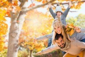 Złota jesień  w  górach