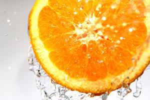 Dwie połówki pomarań