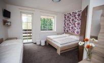 Doppelzimmer-Komfort mit Balkon