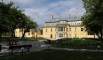 Pałac od strony parku