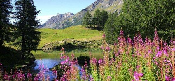 jesienna panorama górska