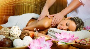 We're giving away gifts -massage in the room price