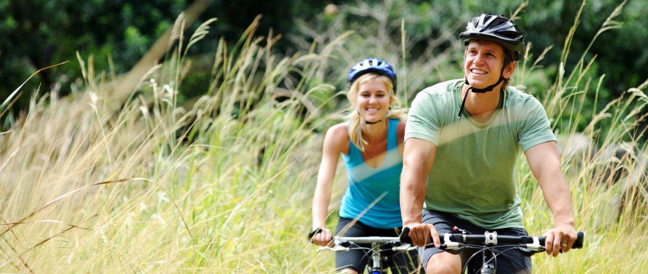 Fahrrad fahren auf der Insel Sobieszewo & Danzig