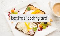 "Übernachtung - Best Preis ""booking-card"""